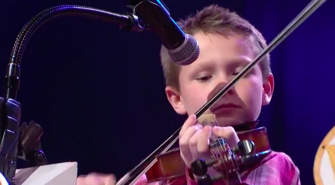Ricky skaggs Songs | 10-Year Old Fiddle Prodigy Stuns Opry With Flawless Performance Of 'Blue Moon Of Kentucky' | Country Music Videos