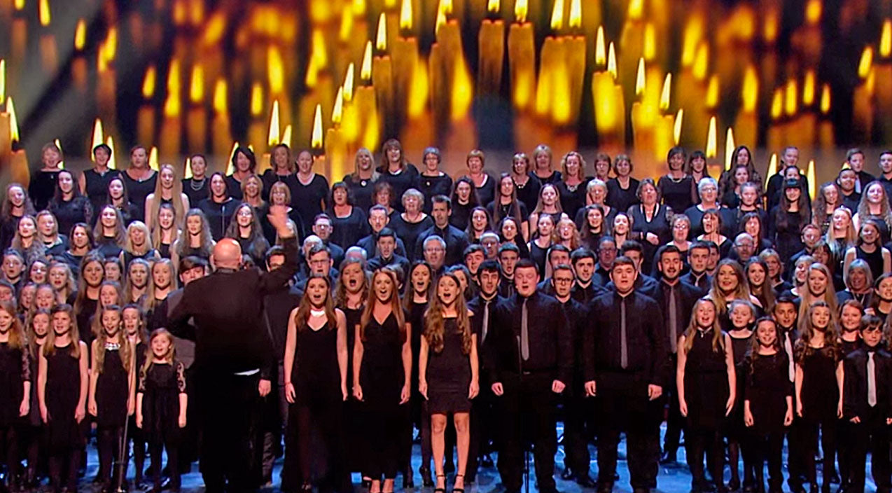 Celine dion Songs | Angelic Choir's Stunning Rendition Of 'The Prayer' Will Give You Chills! | Country Music Videos