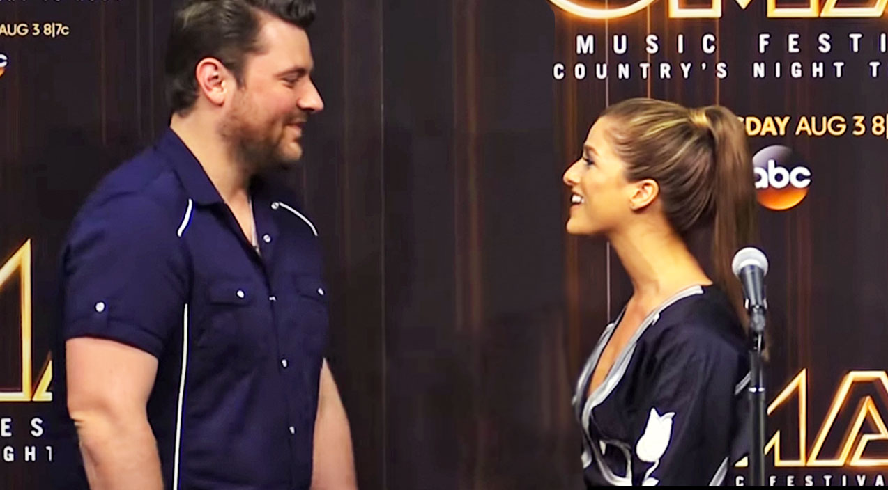 Modern country Songs | Chris Young Stops Cassadee Pope Mid-Interview To Give Her SHOCKING News | Country Music Videos