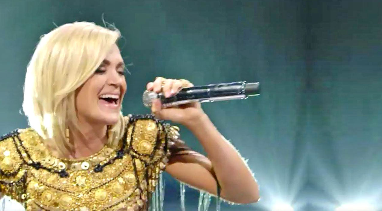 Modern country Songs | Crowd Explodes When Carrie Underwood Stomps Onto The Stage In 'Church Bells' Music Video | Country Music Videos