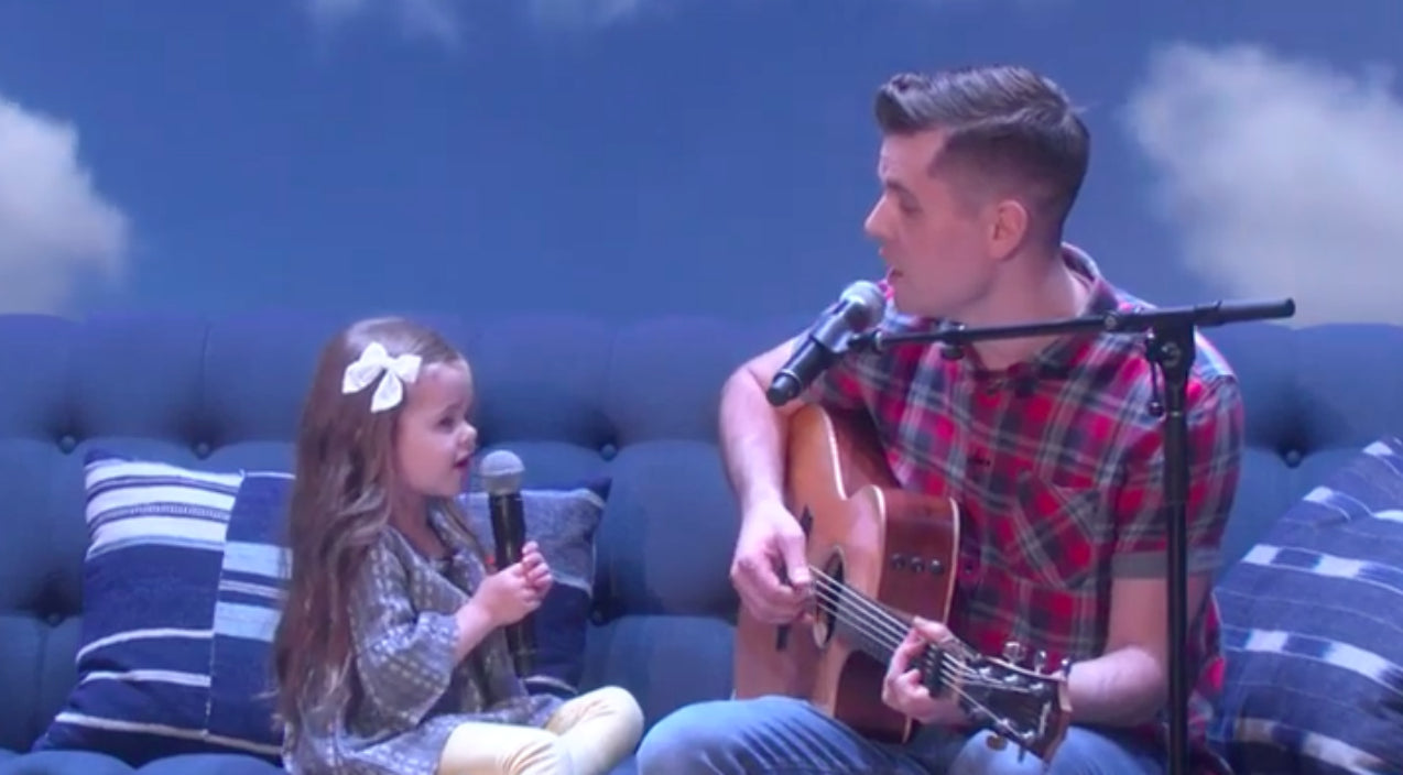 4-Year Old And Her Dad Make Television Debut With 'You've Got A Friend In Me' Duet | Country Music Videos