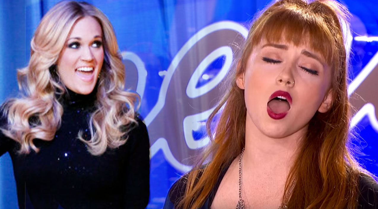 Colette lush Songs | Did The Next Carrie Underwood Just Audition For American Idol? | Country Music Videos