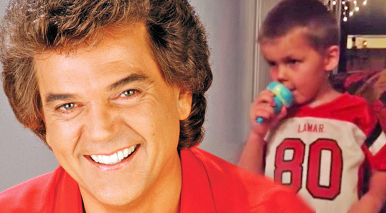Conway twitty Songs   Little Boy Passionately Sings Conway Twitty's