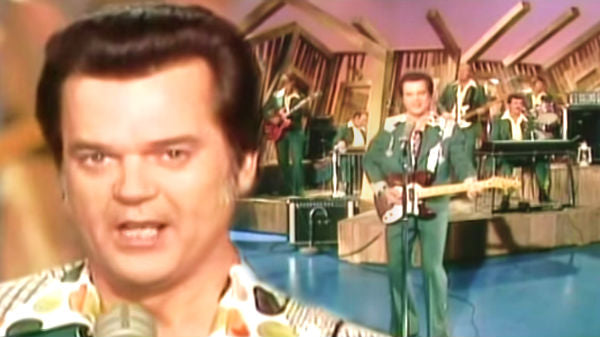 Conway twitty Songs | Conway Twitty - Rollin' In My Sweet Baby's Arms (1975) | Country Music Videos