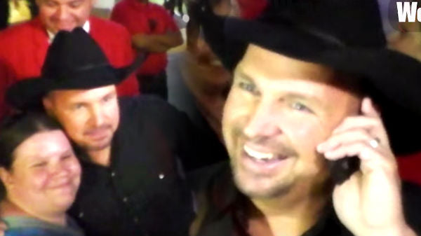 Garth brooks Songs | Country Legend Garth Brooks Surprises a Lucky Fan Leaving Teachers Rock Charity Benefit | Country Music Videos