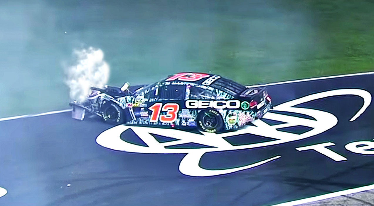 Nascar Songs   'Intentional' NASCAR Crash Ignites Fiery Driver Feud   Country Music Videos