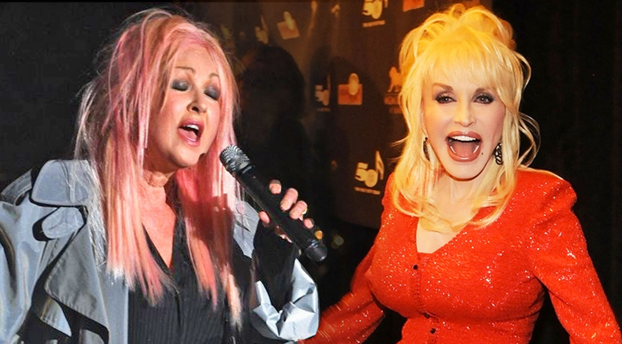 Dolly parton Songs | Cyndi Lauper Covers Dolly Parton's Holiday Classic, 'Hard Candy Christmas' | Country Music Videos