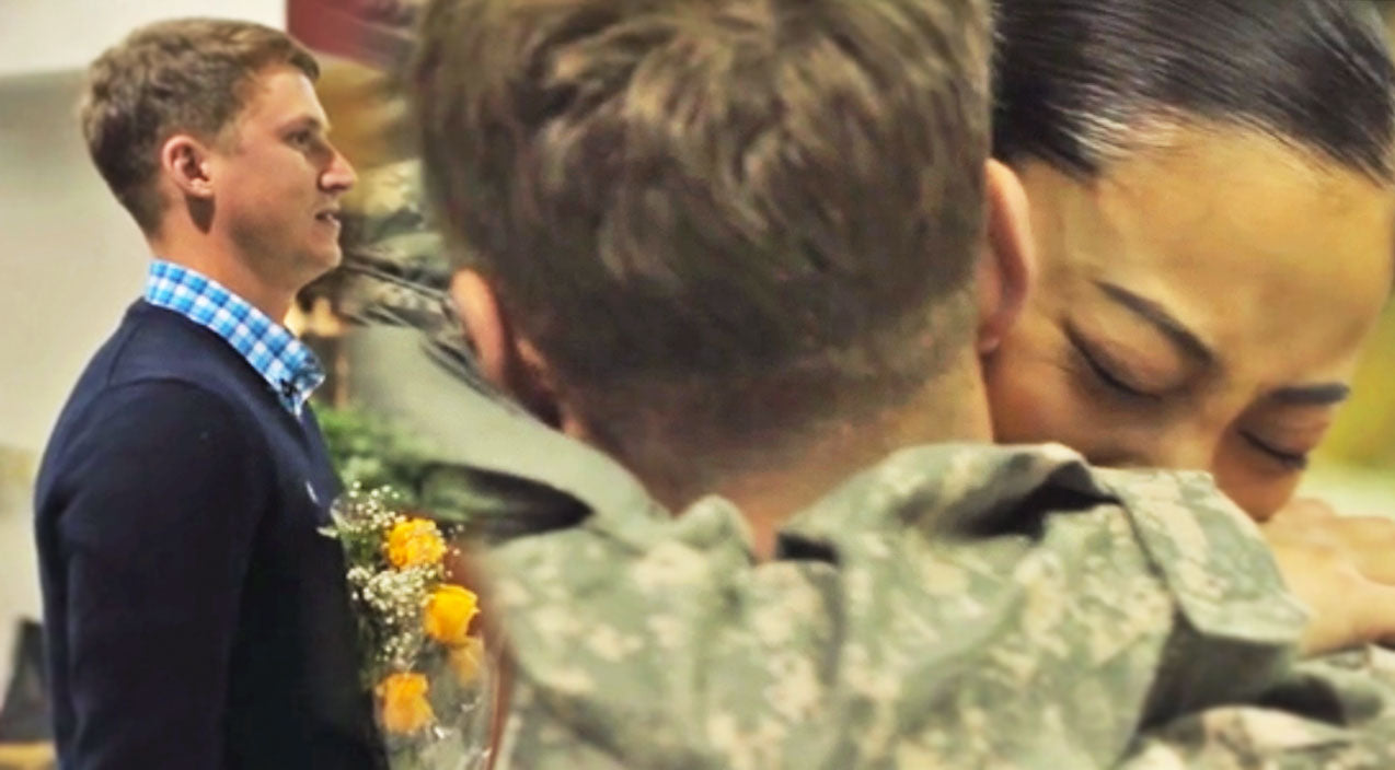 Soldier Returns To Her Man & It's So Beautiful! | Country Music Videos