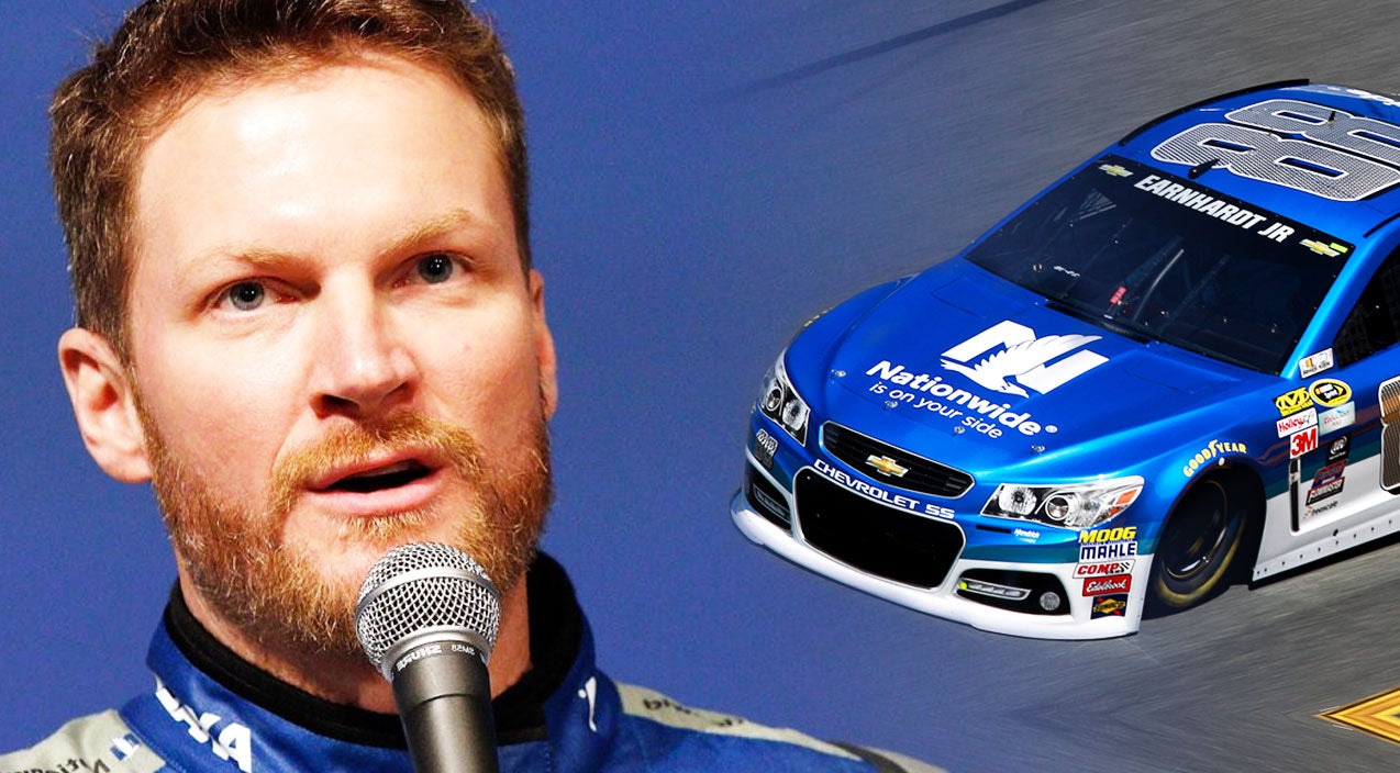Nascar Songs | Dale Jr. Forced To Sit Out 2 Races, Team Decides To Repaint His Car | Country Music Videos