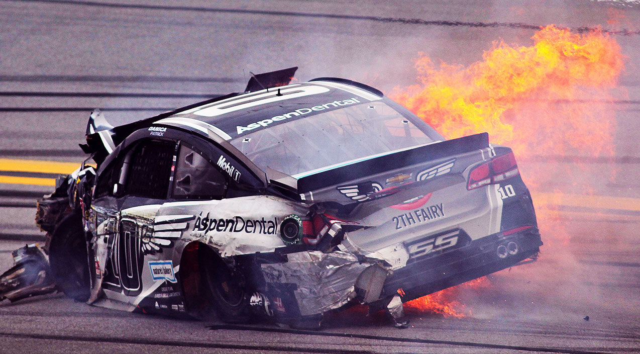 Nascar Songs | Ambulance Rushes Danica Patrick Away After Car Goes Up In Flames | Country Music Videos