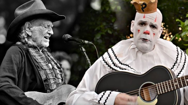Willie nelson Songs | Depressed Viral Clown Gives Remarkable Cover Of Willie Nelson Classic | Country Music Videos