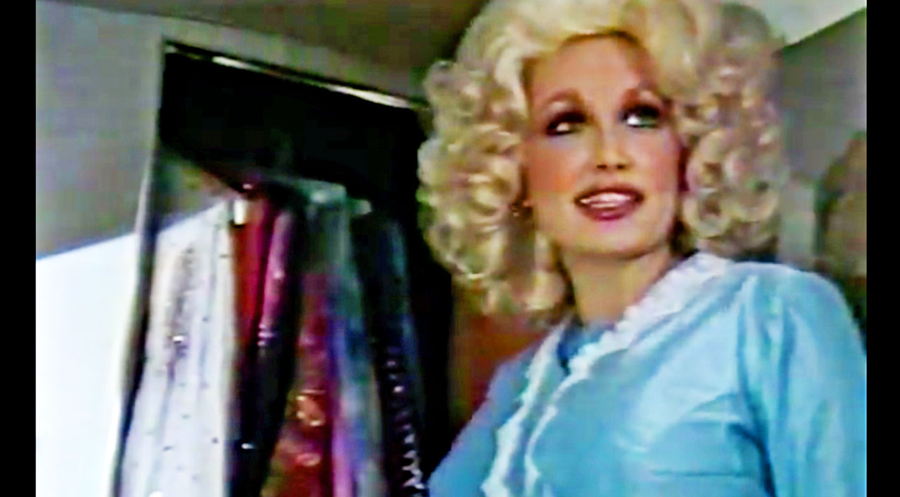 Dolly parton Songs | Rare Footage Has Dolly Parton Showing Off Her 1970s Tour Bus | Country Music Videos