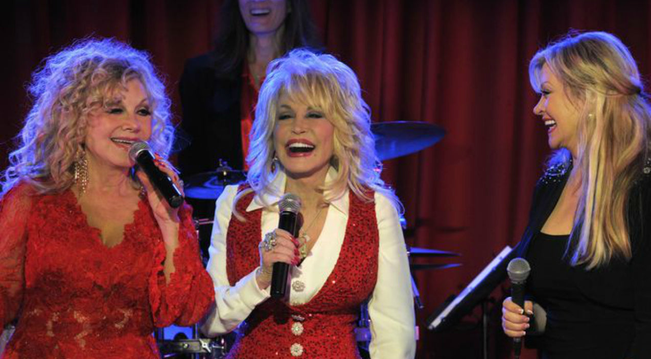 Dolly parton Songs | Dolly Parton Joined By Sisters For 'Oh, Little Town Of Bethlehem' | Country Music Videos