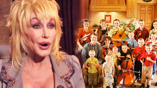 Dolly parton Songs | Dolly Parton Sings With The Duggars On