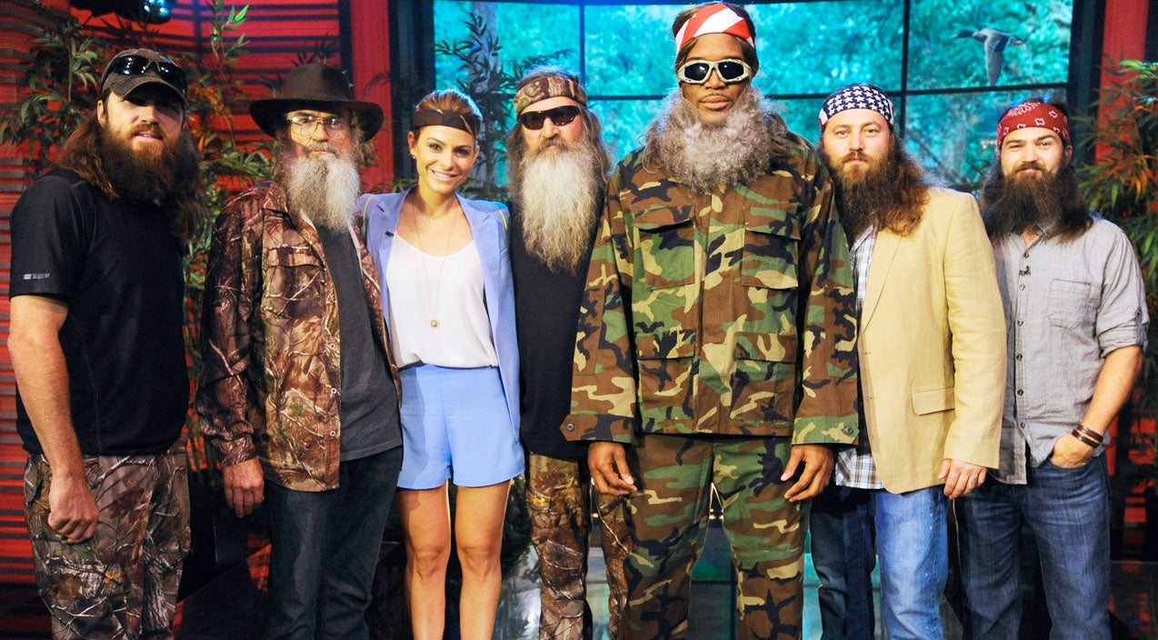 Si robertson Songs | The Duck Dynasty Clan Appears on