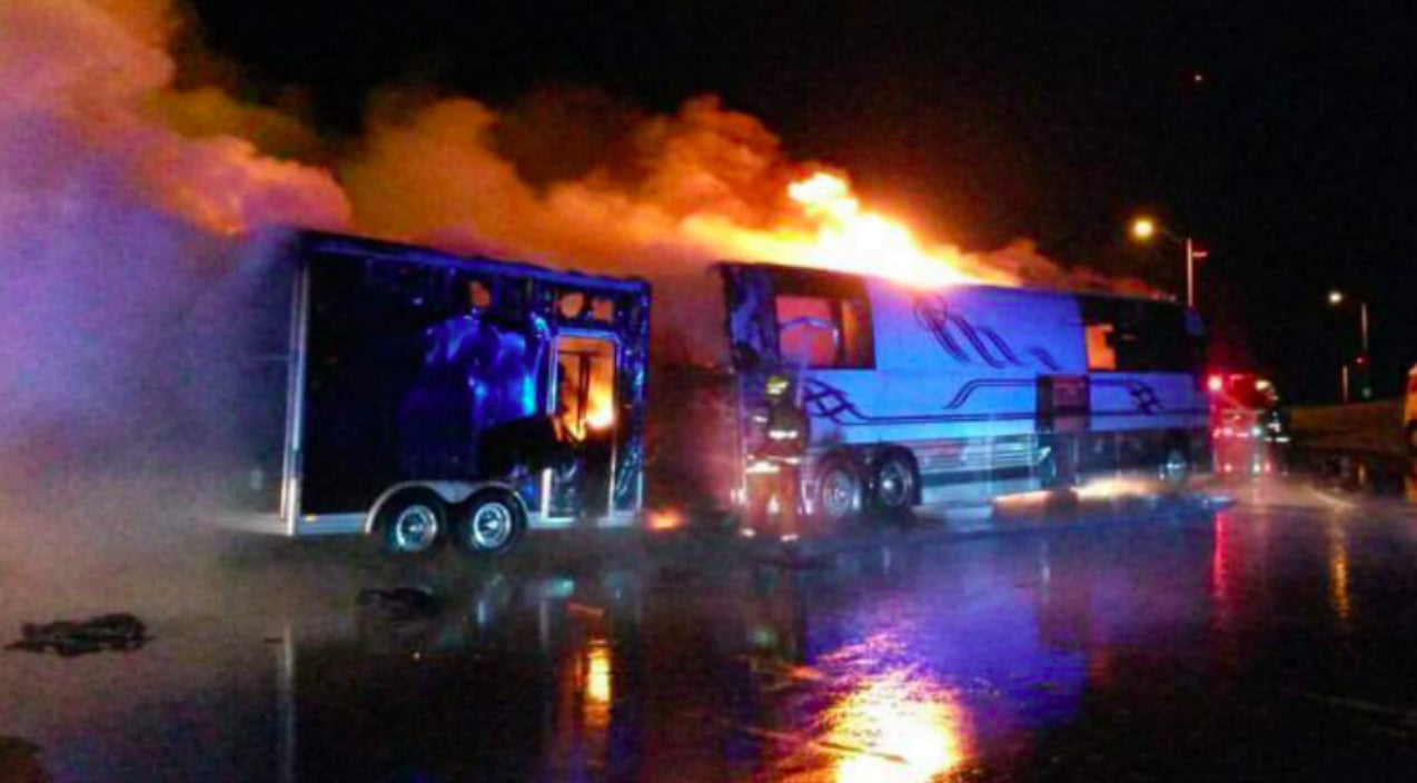 Lady antebellum Songs | Devastating Night For Award Winning Country Group As Their Tour Bus Goes Up In Flames | Country Music Videos