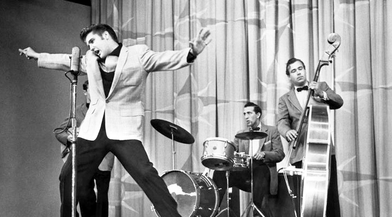 Elvis presley Songs | Elvis Presley's Controversial First TV Performance Shocked America With 'Shake, Rattle, & Roll' | Country Music Videos