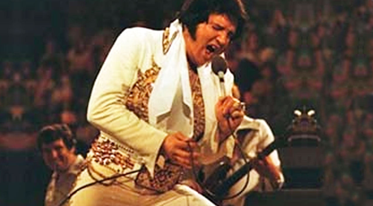 Elvis presley Songs | Elvis Presley Sings 'Unchained Melody' During Final Recorded Concert | Country Music Videos