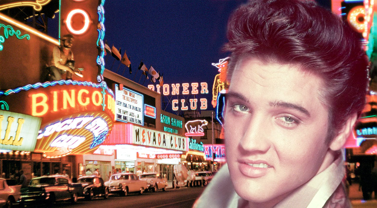 Elvis Presley's 1956 Vegas Debut | Country Music Videos