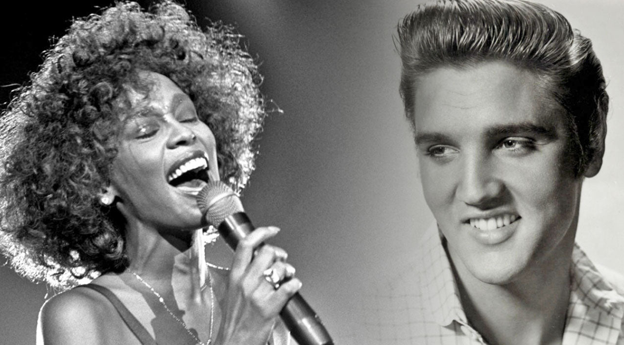 Whitney houston Songs | Whitney Houston Reminisces On The Time She Met Elvis Presley | Country Music Videos
