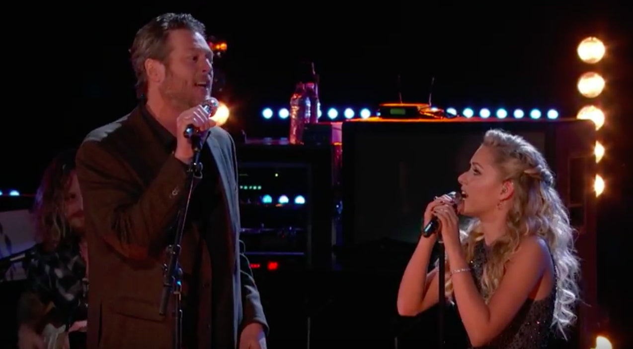 Kenny rogers Songs | Blake Shelton And Emily Ann Roberts Honor Kenny & Dolly With 'Islands In The Stream' | Country Music Videos