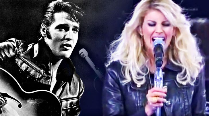 Faith hill Songs | Leather-Clad Faith Hill Delivers Growling Tribute To Elvis | Country Music Videos