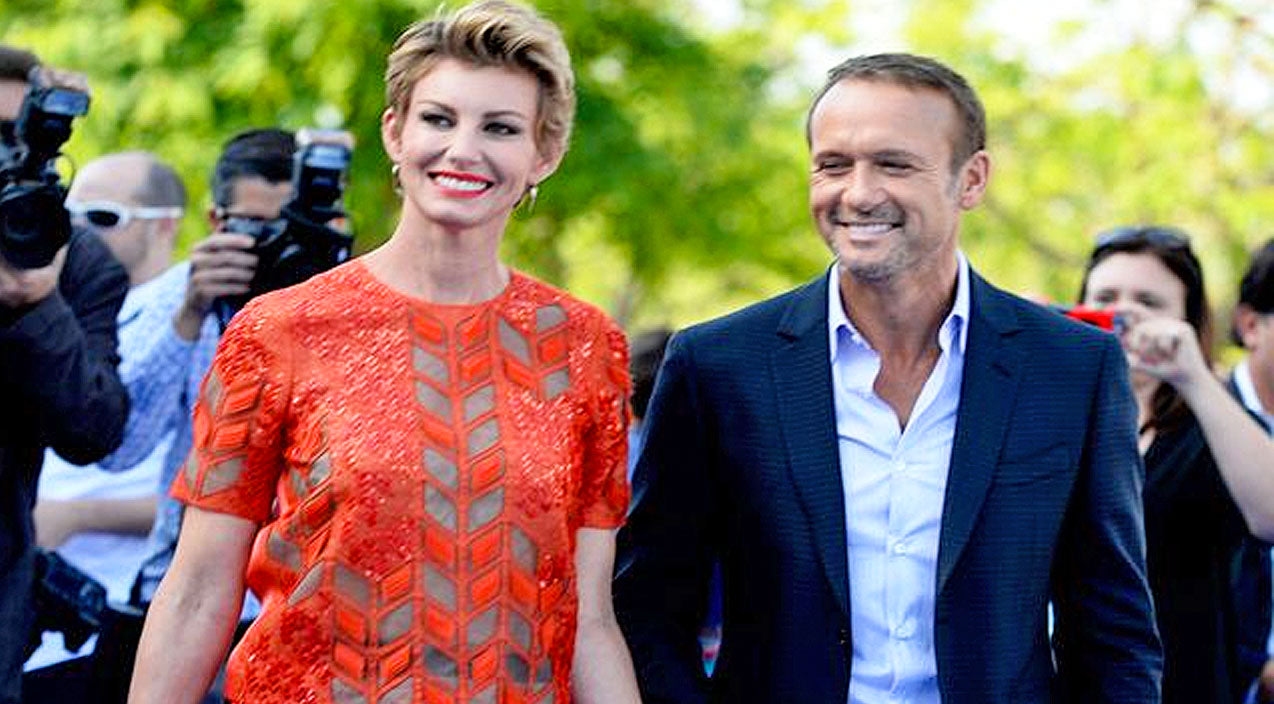 Tim mcgraw Songs | Tim McGraw Embarrasses Faith Hill on Red Carpet! (WATCH) | Country Music Videos
