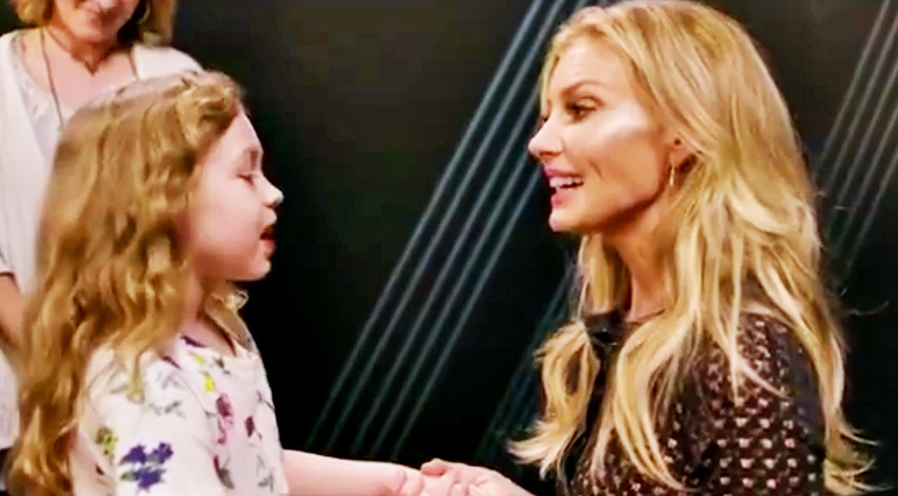 Modern country Songs | Faith Hill Brought A Little Girl Backstage, But When They Started Singing? Hearts Melted! | Country Music Videos