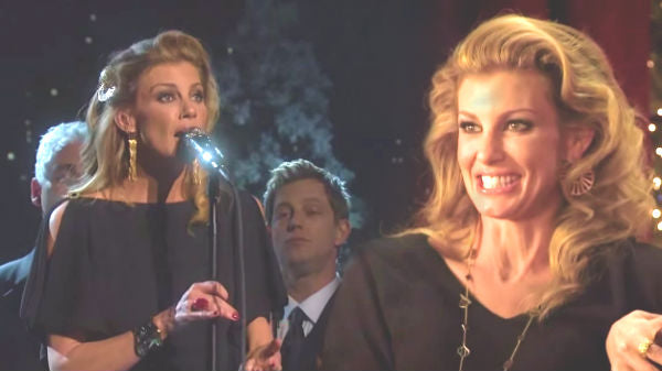 Faith hill Songs | Faith Hill - Little Drummer Boy (CMA Country Christmas 2011 Live) (VIDEO) | Country Music Videos