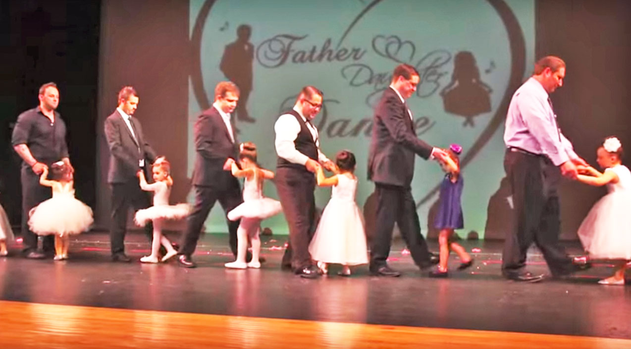 Trace adkins Songs | Charming Father+Daughter Dance Wins Hearts With Trace Adkins' Classic 'Then They Do' | Country Music Videos