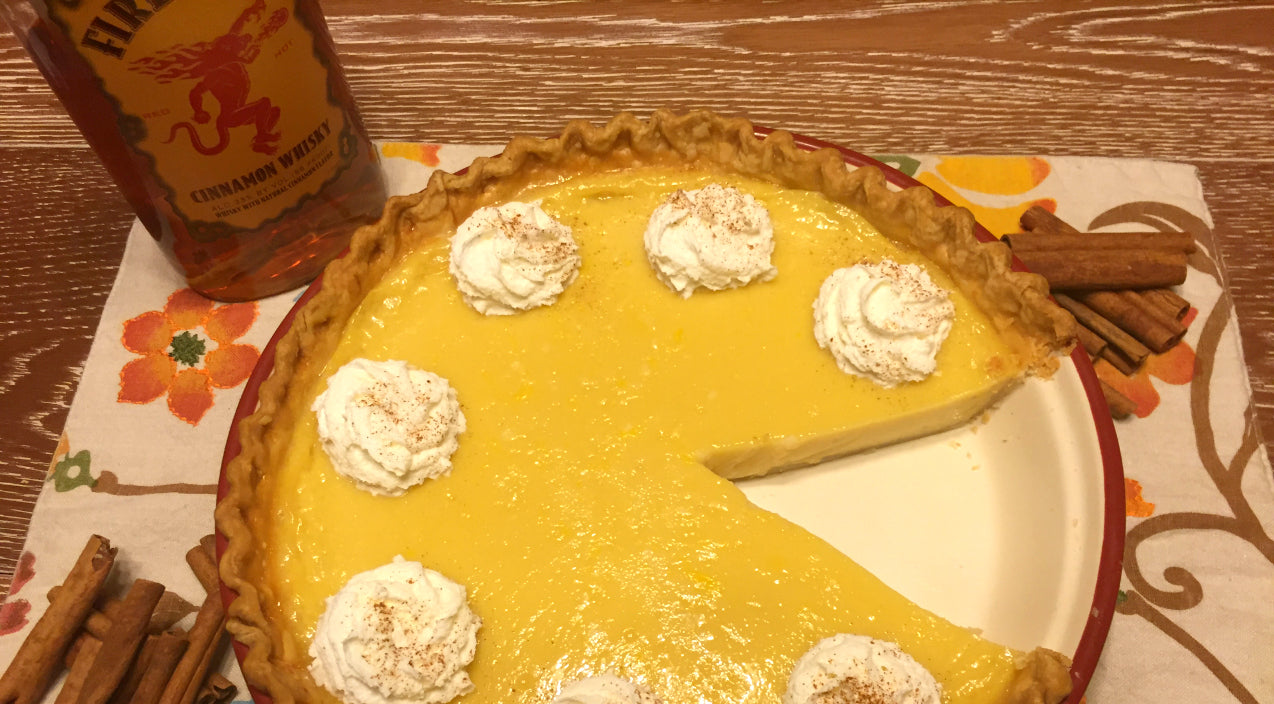 Spice Up Your Thanksgiving Table With Fireball Eggnog Custard Pie | Country Music Videos