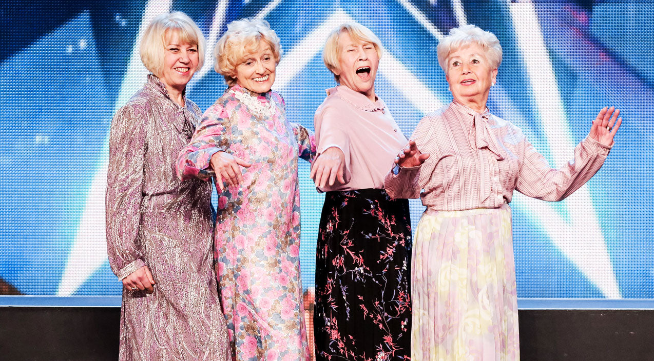 When 4 Grandmas Took The Stage They Did The Last Thing You'd Expect! | Country Music Videos