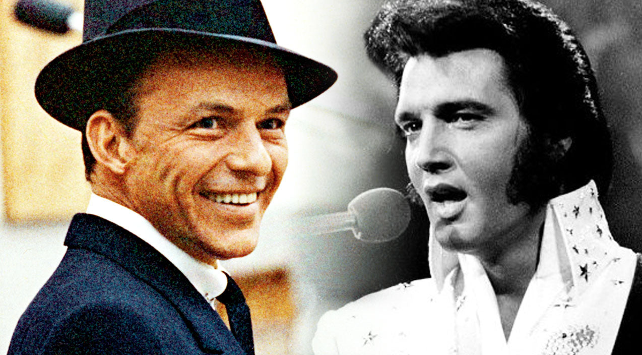 Frank sinatra Songs | Elvis Presley and Frank Sinatra Adorably Sing and Dance Together, And It's Amazing! | Country Music Videos