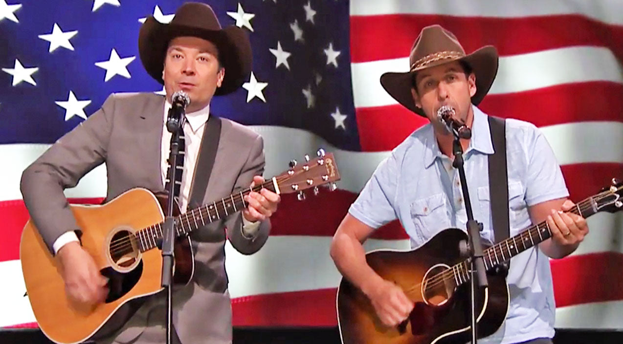 Garth brooks Songs | Adam Sandler & Jimmy Fallon Deliver HILARIOUS Garth Brooks Parody To Troops | Country Music Videos