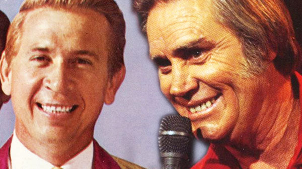 George jones Songs | George Jones With Bucks Owens - Love's Gonna Live Here | Country Music Videos