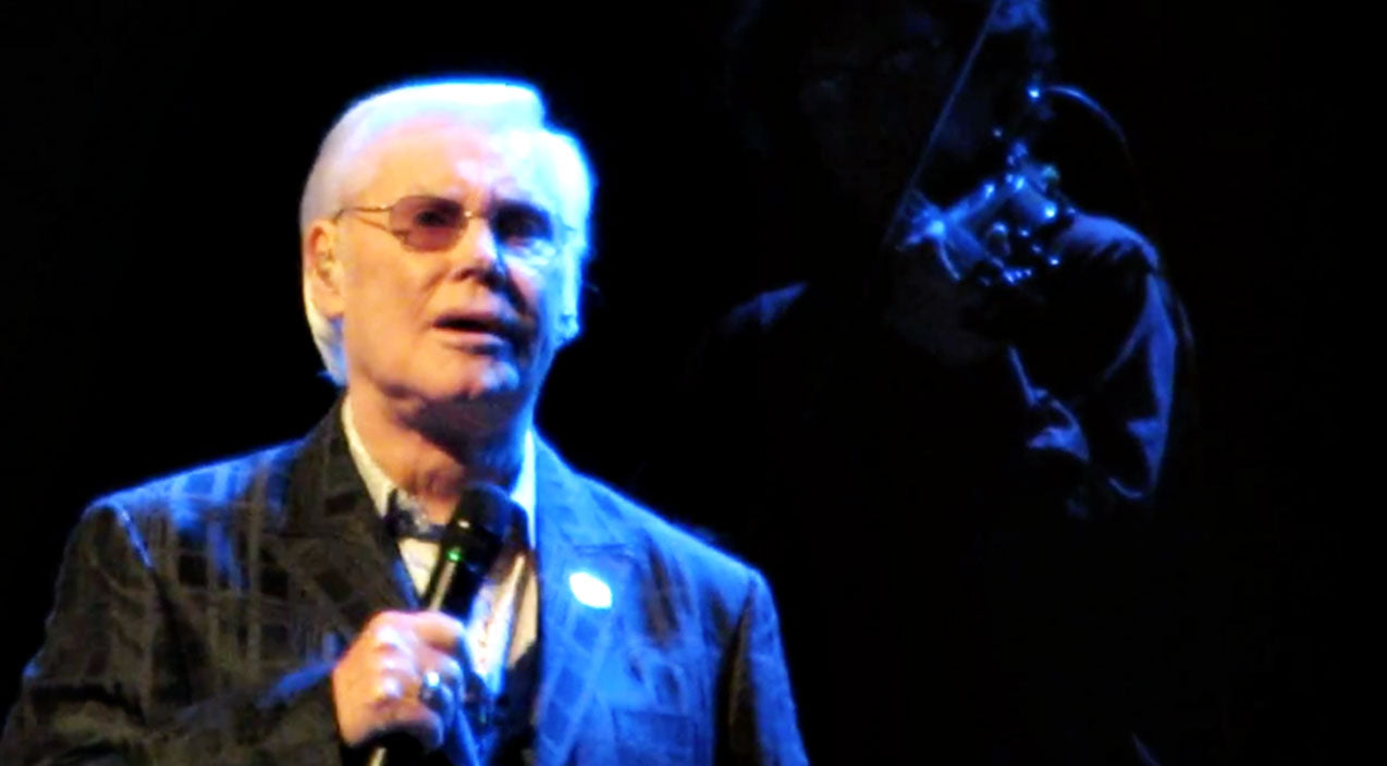 George jones Songs | George Jones Bleeds Classic Country In Emotional Final Performance Of 'He Stopped Loving Her' | Country Music Videos