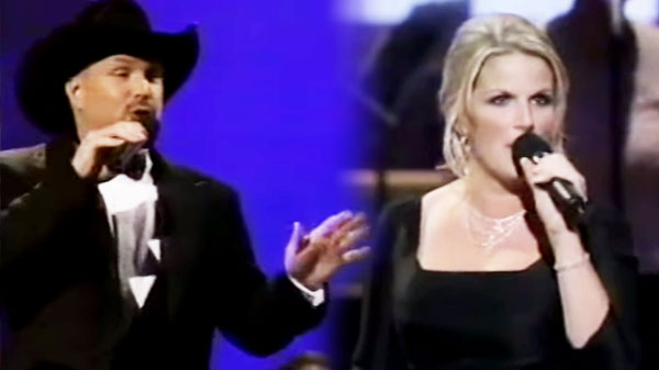 Garth Brooks and Trisha Yearwood - Louisiana Woman, Mississippi Man | Country Music Videos