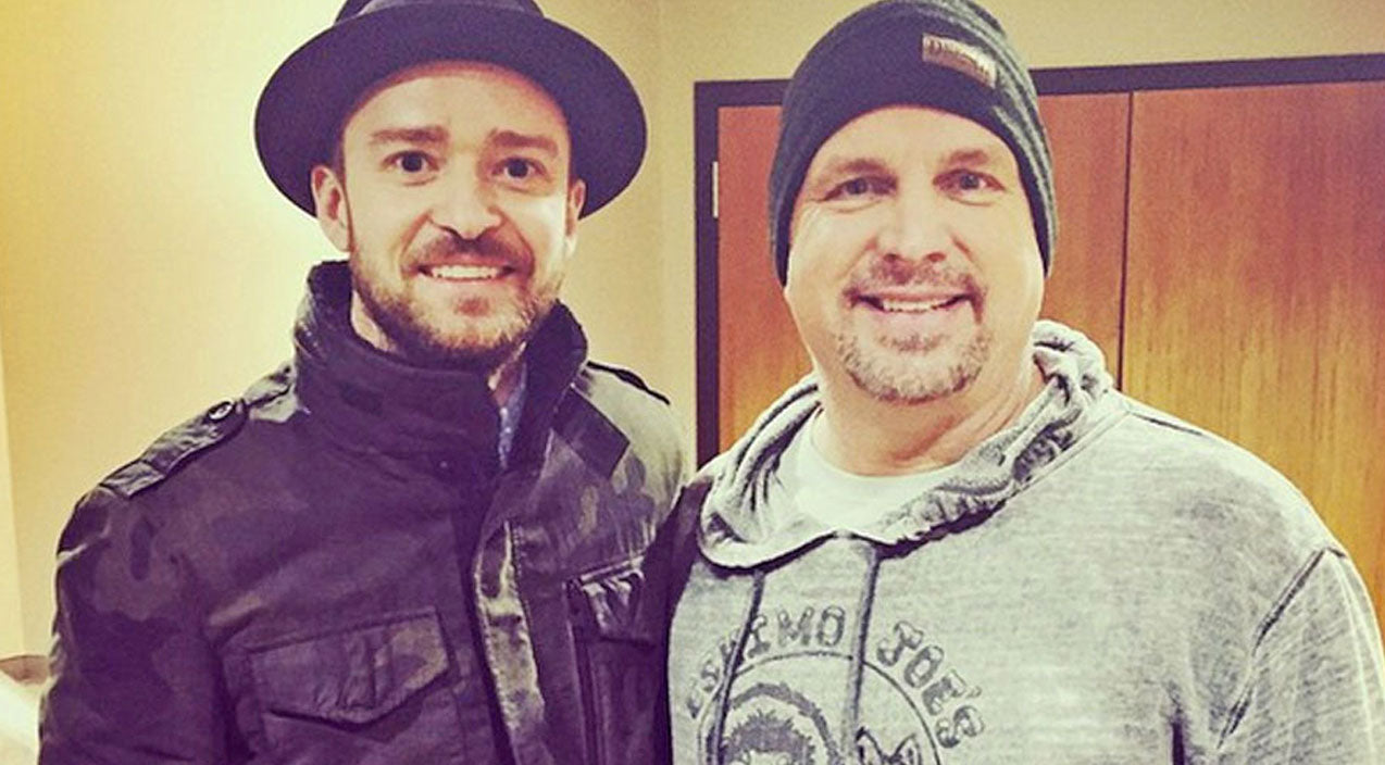 Justin timberlake Songs | Garth Brooks: Justin Timberlake Was 'Raised On Country Music' | Country Music Videos