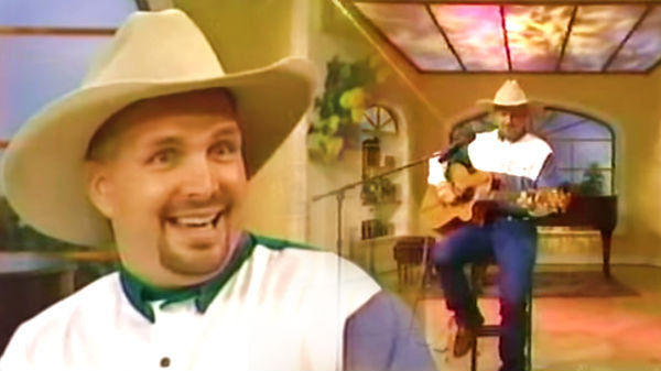 Garth brooks Songs | Garth Brooks - Much Too Young (To Feel This Damn Old) on Regis 1994 (VIDEO) | Country Music Videos