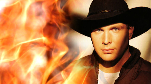 Garth brooks Songs | Garth Brooks - Standing Outside The Fire | Country Music Videos