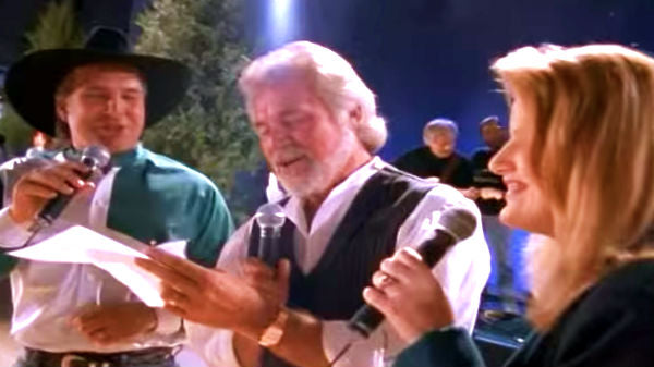 Trisha yearwood Songs | Enjoy Kenny Rogers, Garth & Trisha's Toe-Tappin' Performance Of 'The Old Man's Back In Town' | Country Music Videos