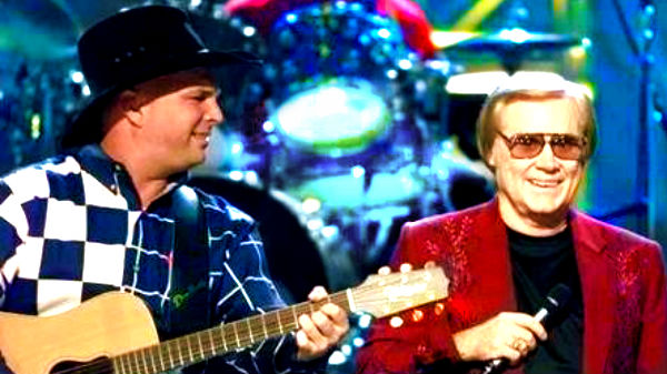 George jones Songs | Garth Brooks and George Jones - Beer Run (Live) | Country Music Videos