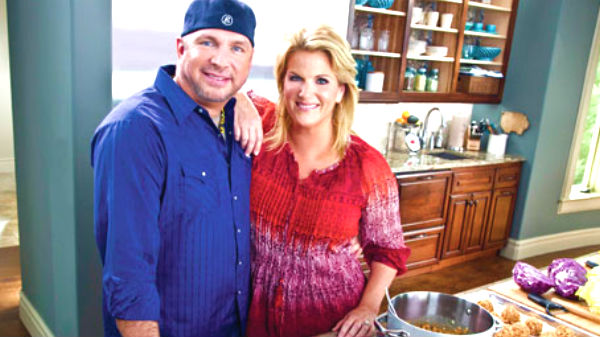 Trisha yearwood Songs | Garth Brooks on Trisha's Southern Kitchen (WATCH) | Country Music Videos