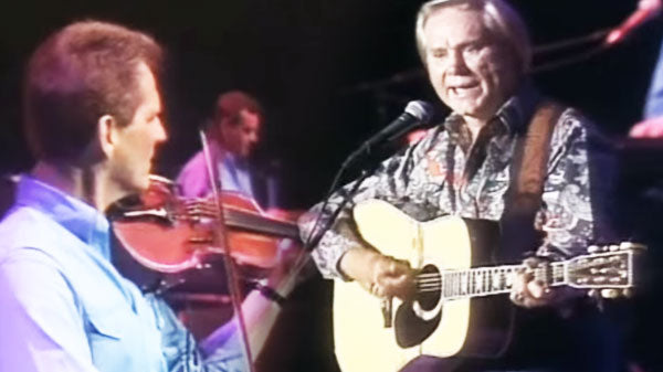 George Jones - The Corvette Song | Country Music Videos