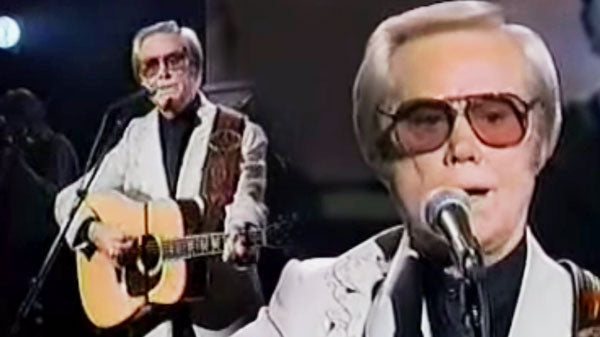 George Jones - You Oughta' Be Here With Me | Country Music Videos