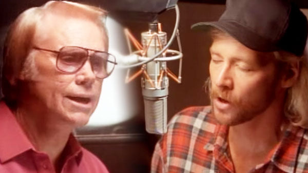 George Jones and Alan Jackson - DUET - A Good Year For The Roses | Country Music Videos