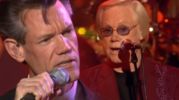 Randy travis Songs | George Jones and Randy Travis - DUET - A Few Ole Country Boys | Country Music Videos