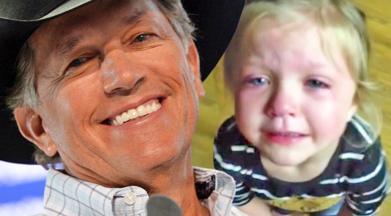 George strait Songs | George Strait's Littlest Fan Missed His Farewell Tour (Adorable!) (VIDEO) | Country Music Videos