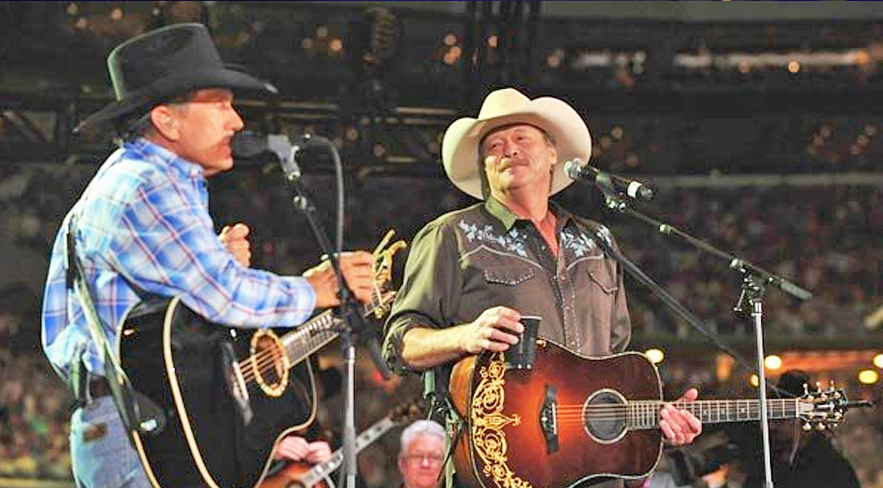 George strait Songs | George Strait Covers Iconic Song, 'Where Were You (When The World Stopped Turning)' | Country Music Videos