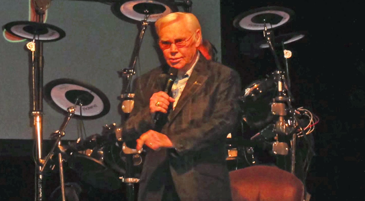 George jones Songs | George Jones' Final Performance Of 'He Stopped Loving Her' Will Break Your Heart | Country Music Videos